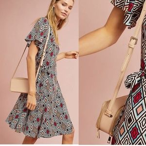 ANTHROPOLOGIE Regina Wrap Dress
